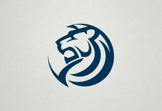 Animal Logos on Behance Logos, Logo Branding, Logo Lion, Lion Icon, Animal Symbolism, Luxury Logo, Lion Art, Logo Restaurant, Lion Tattoo