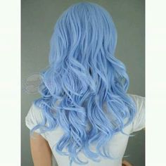 Ice blue hair