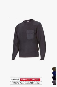 URID Merchandise -   CAMISOLA MALHA C/BOLSO   23.79 http://uridmerchandise.com/loja/camisola-malha-cbolso/ Visite produto em http://uridmerchandise.com/loja/camisola-malha-cbolso/