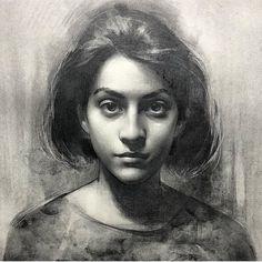 "1,590 Likes, 18 Comments - Academic Art (@figurative_art) on Instagram: ""Drawing by @stephenbaumanartwork"""