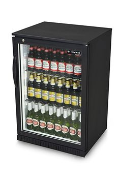 Capital PRIMO 1 - Single Door Beer Fridge - Black under counter bottle cooler Metal Shelves, Wire Shelving, Beer Fridge, Single Doors, Interior Lighting, Counter, Bottle, Catering, Appliances