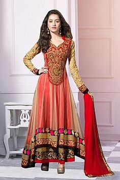 Anarkali Suits, Buy Anarkali Kurtis, Anarkali Salwar Suits Online ...