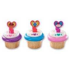 Cupcake Favor Rings - Doc McStuffins (24)