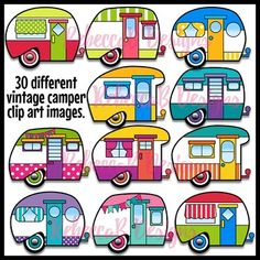 Vintage Camper Clip Art, Clip Art Clipart, Vintage Trailer, Retro Retro Camper, Vintage Clip Art – Famous Last Words Camping Theme, Camping Crafts, Camping Ideas, Camping Hacks, Family Camping, Rv Camping, Camping Essentials, Camping Checklist, Camping Outdoors