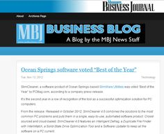 Mississippi local - Ocean Springs software picked as one of the best platforms of 2012.  SlimCleaner 4.0 is cloud-sourced cleaning that works like no other optimization utility on the market.  Best part is, it's free.