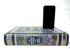 Bronte Sisters booksi Charging Dock for iPhone or Android by RichNeeleyDesigns on Etsy https://www.etsy.com/listing/110918799/bronte-sisters-booksi-charging-dock-for