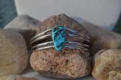 Vintage Navajo Jewelry  Turquoise & Sterling by SweetVintageTX