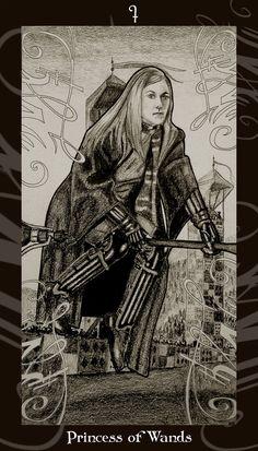 Tin mới Lá Princess of Wands - Harry Potter Tarot bài tarot Xem thêm tại http://tarot.vn/la-princess-of-wands-harry-potter-tarot/