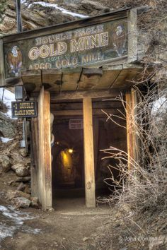 Historic Argo Gold Mine Mill and Museum Adventure Tours - possible field trip Idaho Springs Colorado, Road Trip To Colorado, Visit Colorado, Living In Colorado, Old West Decor, Haunted Woods, Gold Miners, Gold Prospecting, Le Far West