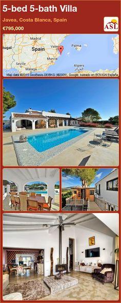5-bed 5-bath Villa in Javea, Costa Blanca, Spain ►€795,000 #PropertyForSaleInSpain
