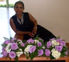 Delissa James-Peterson, CWP - owner of Designs by Delissa Customized Weddings