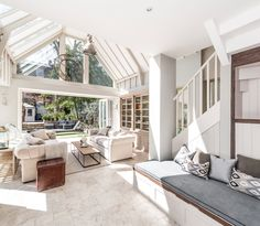 Light, airy and comfortable conservatory