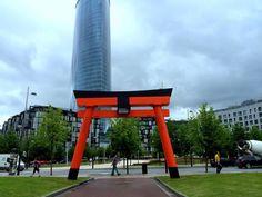 Grandes torii en Bilbao