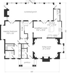 Brookgreen Cottage Plan SL-280