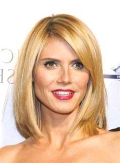 34 Besten Frisuren Für Rundes Gesicht Bilder Auf Pinterest Hair