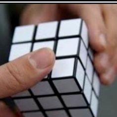 blonde rubics cube..