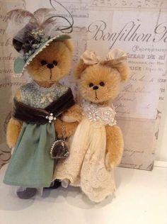 "queenbee1924:  Shaz Bears - Artist Bears and Handmade Bears | ""I'm Stuffed"")"