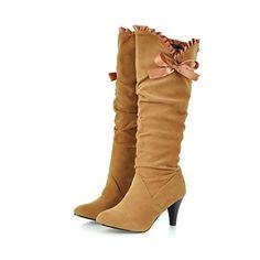 Knee-High Fashion Boot