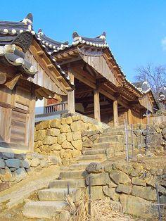 UNESCO, Historic villages of Korea: Yangdong Village, Gyeongju, South Korea.