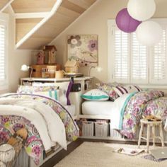 Nice! A little girly but I like how it's set up. Perfect for me and my sister:)