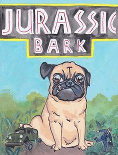 Jurassic Bark on Behance