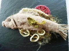 tricot gourmand: poisson sauce beurre blanc et aneth/ Fisch mit Butter- Dillsauce