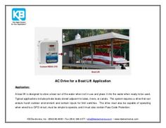 AC Drive for a Boat Lift  by KB Electronics, Inc., via Slideshare