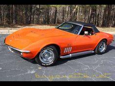 1969 Corvette Convertible for $85,999 in Atlanta,