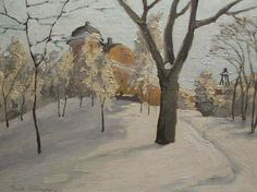Ernst Nilsson (1892-1937): Slottet