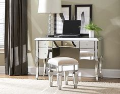 Avalon Furniture Lenox Vanity With Optional Bench