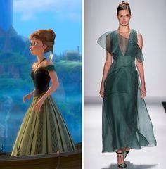 What If Disney's Frozen Had Fashion? – Vogue
