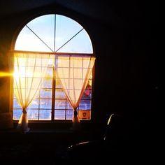 Sunrise in my eastern window.  #Colorado #sunrise
