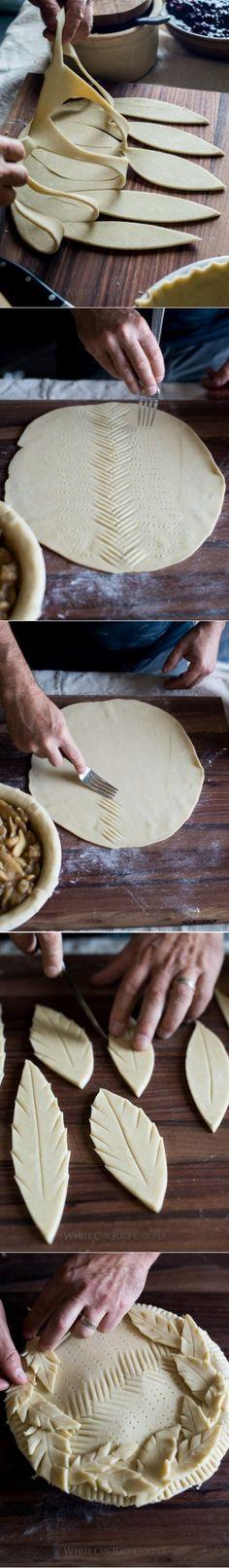 Decoration of pies