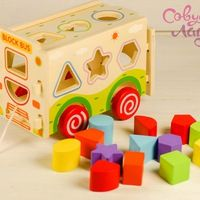 Совушкина лавка- развивающие деревянные игрушки