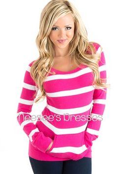 Sooo adorable!!! Love this long sleeve top!
