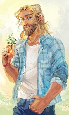 Frey, God of Summer and Fertility - Rick Riordan's Magnus Chase and the Gods of Asgard - Viria Percy Jackson Art, Norse