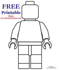 Free printable for the Lego lovers out there from www.SlenderSuzie.com - ENJOY!