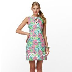 Lilly Pulitzer Adelson Shift  Hurry and get this before Easter!! I can guarantee to mail it same or next day after purchase!! Fabulous Lilly!!! (Not Lilly for Target) One of my all time favorites!! Excellent almost new condition  Lilly Pulitzer Dresses