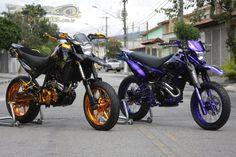 Yamaha XT660R Supermotord Gold Edition | Polaco Motos - Preparações e…