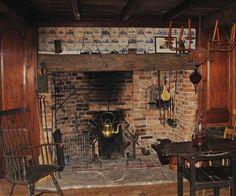 Daryl Hall's fireplace