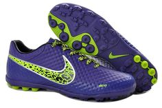 Best Nike Elastico Finale II Turf Soccer Shoes Sale Deep Purple Green