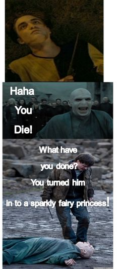harry potter is better than twilight | Tumblr And suddenly, Voldemort has a nose...