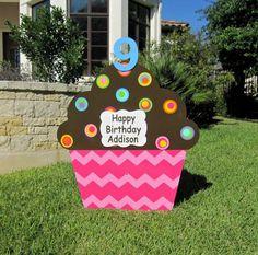 Birthday Yard Signs Lawn Sign Diy Party Rentals Outdoor