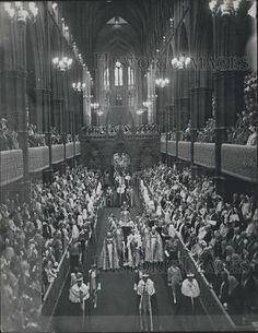Press Photo Coronation King George VI