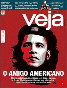 Veja Magazine Caricatures Obama As Communist Revolutionary Che Guevara