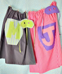 Superhero capes!  We won't tell if you make them in adult sizes too..