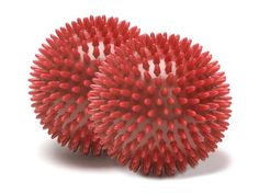 Perfect for all-over sensory stimulation, the mildly pliable Massage Ball (small, pair) can be used to loosen problem areas in the feet, shoulders and back, enhancing muscle performance and reducing risk of injury. Muscle Fitness, Health Fitness, Fitness Gear, Pilates Equipment, Sensory Stimulation, Improve Blood Circulation, Muscle Tension, Lymphatic System, Workout Accessories