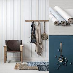 Tapet 5232-3 från kollektionen Blomstertiden. TAPETSTUDION, Nordic Wallpaper AB.