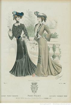 Mode-palace. Album mensuel des dernières créations parisiennes | 1902-11…