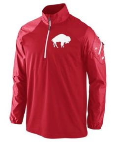Nike Men s Buffalo Bills Alt Hybrid Half-Zip Jacket Buffalo Bills Football ecc9a2e4b